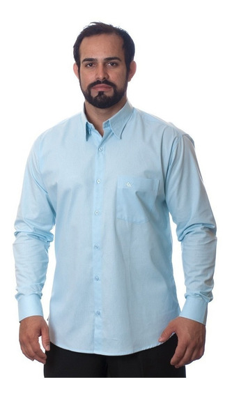 Kit Com 60 Camisas Sociais Manga Longa Revender Atacado