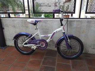 Bicicleta Raleigh Lil Honey Rodado 16 Paseo Aluminio Lista !