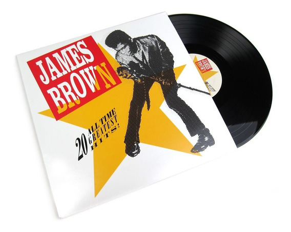 Lp James Brown - 20 All-time Greatest Hits (2lps)
