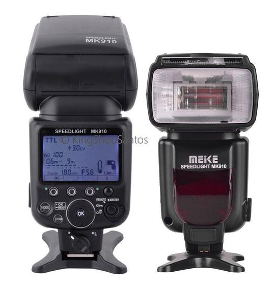 Flash Nikon Meike Mk910 D5300 D3100 D7200 D90 Sb 5000 Sb5000