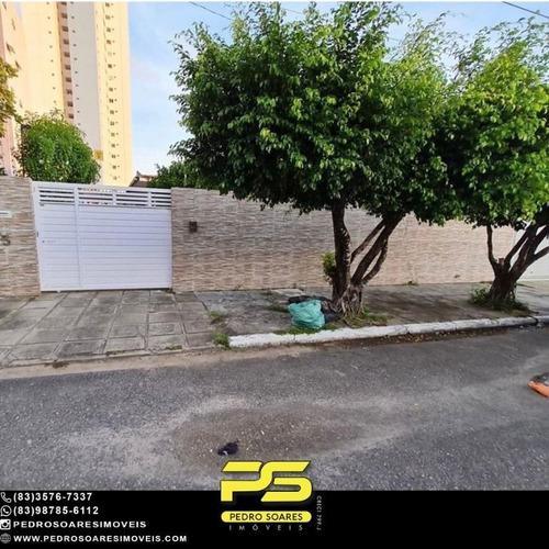 Imagem 1 de 9 de Casa Com 4 Dormitórios À Venda, 219 M² Por R$ 875.000,00 - Manaíra - João Pessoa/pb - Ca1114