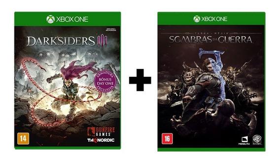 Darksiders 3 (day One) + Sombras Da Guerra - Xbox One - Novo