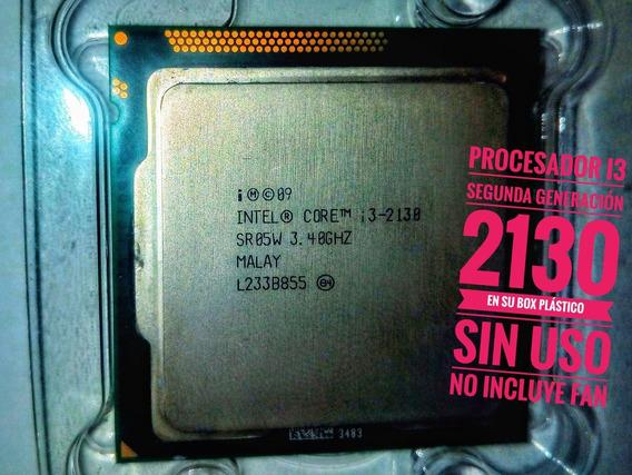 Procesandor Intel I3 2130 Sin Fan Cooler +pasta Termica+gtia