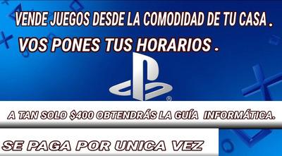 Guía Para Vender Juegos Digitales Y Mucho Más...