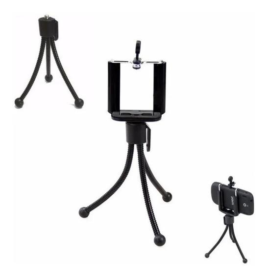 Kit 3 Tripés Pequeno Para Celulares E Cameras **promoção**