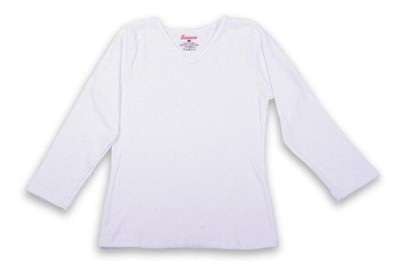 Camiseta Térmica Para Niña