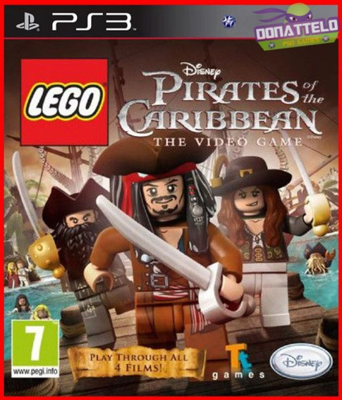 Lego Piratas Do Caribe Ps3 Psn