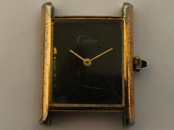 Cartier À Corda Antigo Para Aproveitamento De Peças Cx01