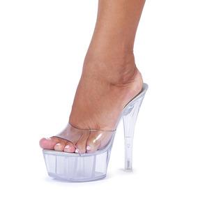 7e682d837a Tamanco Cristal Cristiane Fashion - Sapatos no Mercado Livre Brasil
