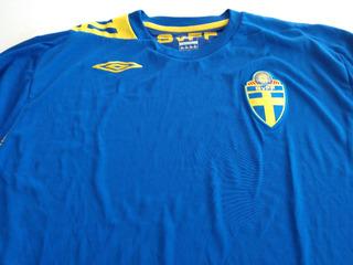 Camisa Seleção Suécia Copa 2006 - Away
