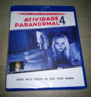 Blu-ray Atividade Paranormal 4 (lacrado)