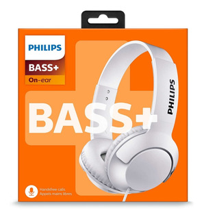 Auricular Philips Vincha Dj Shl3075 Extra Bass Blanco Cel