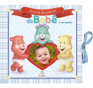 Livro De Recordações Do Bebê Para Menino Album Do Bebê