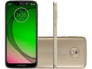 Smartphone Motorola G7 Play 32gb Ouro 4g - 2gb Ram Tela 5,7