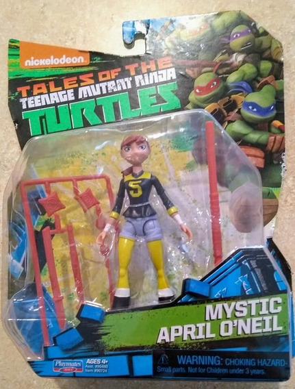 Mystic April Oneil Tartarugas Ninjas Playmates (rara Unica)