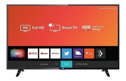 """Smart TV AOC 43S5295/77G LED Full HD 43"""""""