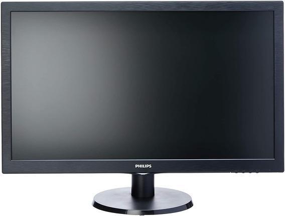 Monitor Philips Led 27 Multimidia 273v5lhab Full Hd Vga Dvi