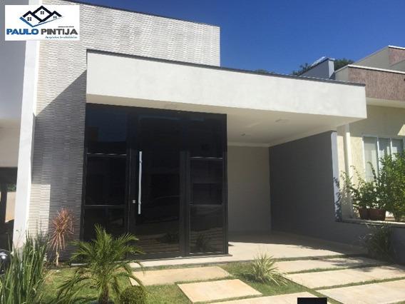 Casa Terrea Nova Com Móveis Planejados No Condomínio Fechado Vista Verde Em Itaici - Ca04021 - 32575482