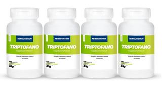 Combo 4 Triptofano 120 Cápsulas Newnutrition