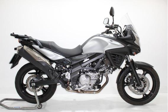 Suzuki V Strom 650 Abs 2018 Prata - Baixo Km