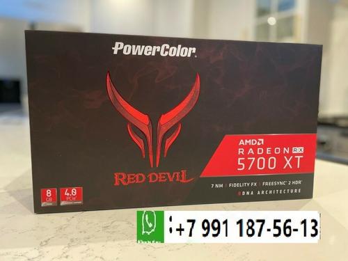 Imagen 1 de 4 de Powercolor Red Devil Radeon Rx 5700 Xt 8gb Gddr Scheda Video