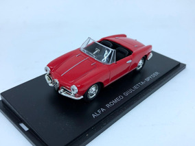 Miniatura Alfa Romeo Giulietta Spyder 1:43 Revell Raridade