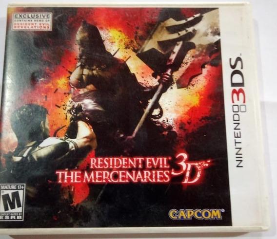 Resident Evil: The Mercenaries 3d - Nintendo 3ds Completo U