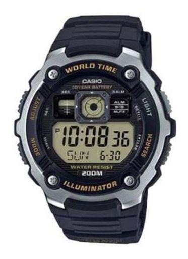 Relógio Casio Esporte Preto Digital Ae-2000w-9avdf