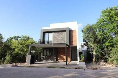 Casa En Renta Amueblada En Cancun, Aqua Residencial