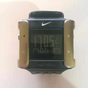 Raro Relógio Digital Unissex Nike Cage Ouro Wc0071 Importado