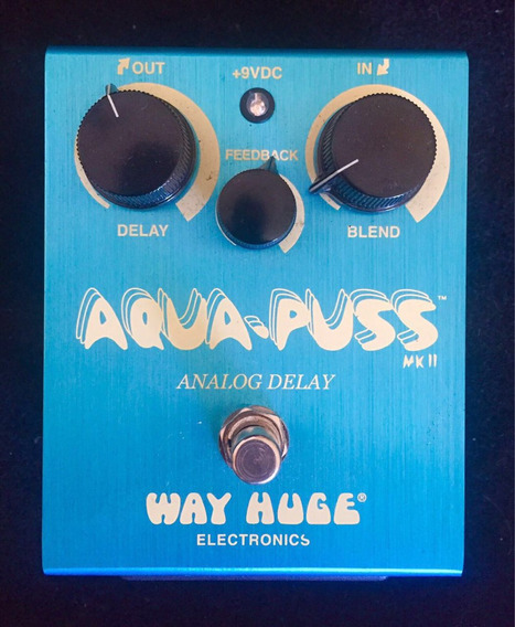 Pedal Delay Way Huge Aqua Puss (na Caixa)