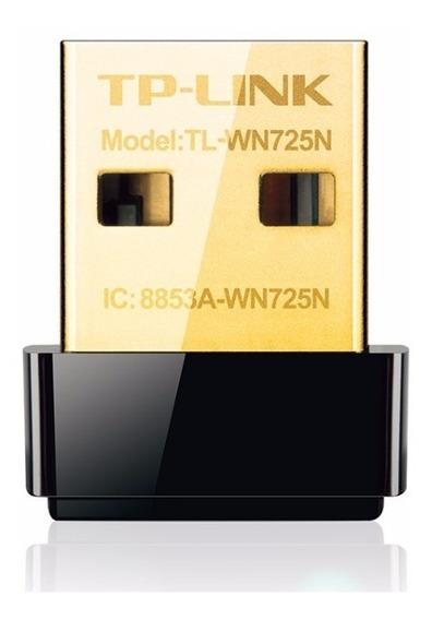 Adaptador Usb Wifi Mini Tp-link Tl-wn725n 150mbp 725n Pc