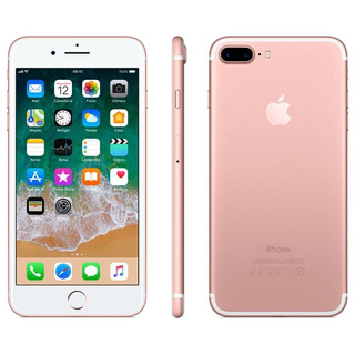iPhone 7 Plus 128gb Ouro Rosa Anatel Lacrado Nota Fiscal