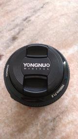 Lente Yougnuo 50mm 1.8