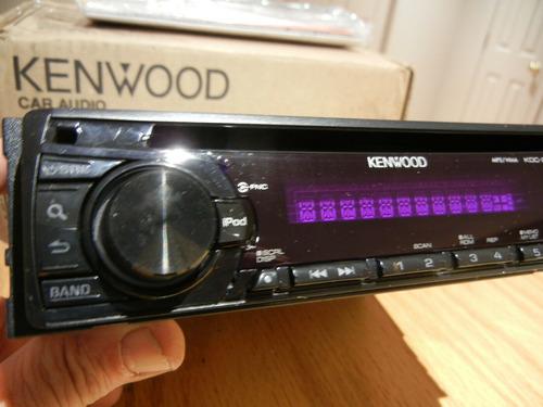 Nuevo Kenwood Kdc-248u (rb) Radio De Coche Cd Y Puertos Usb