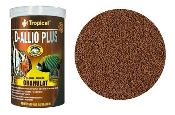 Ração D-allio Plus Granulat 150g Tropical