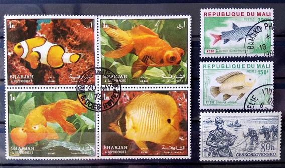 Fa 008 Selo Fauna Peixe Mali