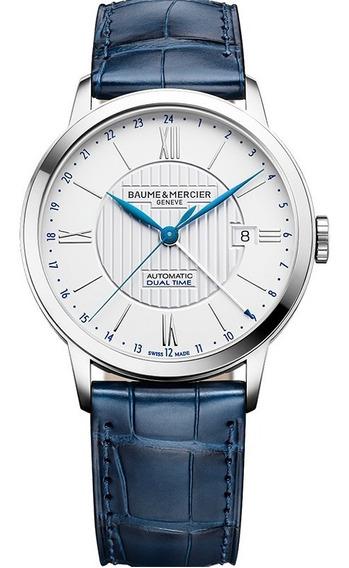 Reloj Baume & Mercier Classima Piel Zafiro 10272 Automatico