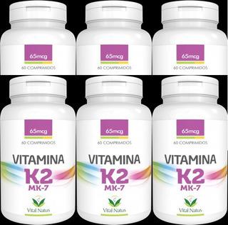 Vitamina K2 Mk7, 360 Capsulas , Original, Vital Natus