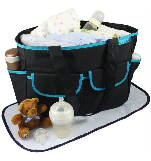 Bolsa Maternidade C/trocador - Mamae & Bebe - Jacki Design
