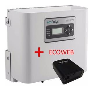 Inversor On Gried Tie Ecosolys Solar 2000w+wifi Usado+nota