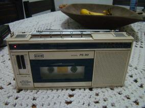 Rádio Am Fm Cassete Recorder Cce Ps90 , Ler Descrição