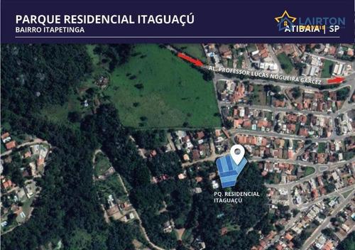 Lotes À Venda Em Atibaia Sp - Localização Privilegiada - Te0749