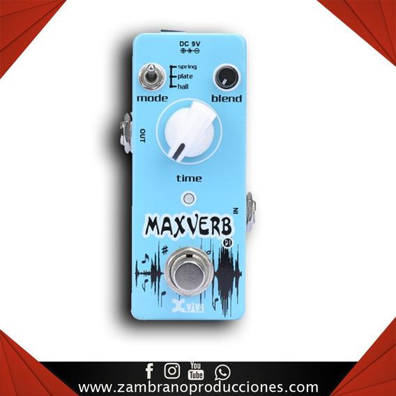 Pedal De Guitarra Xvive D1 Maxverb