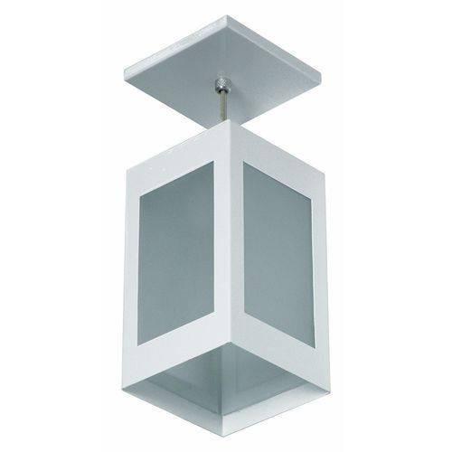 Kit 6 Luminária Pendente Colonial 4 Vidros