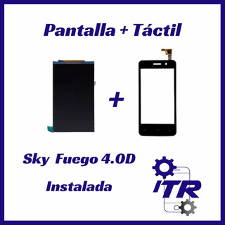 Pantalla+táctil Sky 4.0d Ya Instalada Chacao Tienda