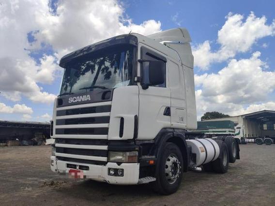 Scania R 124/400 Trucado 6x2 Ano 2002 Bonito