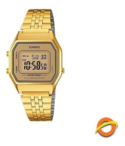 Reloj Casio La-680wga Digital Acero Inoxidable Crono Timer