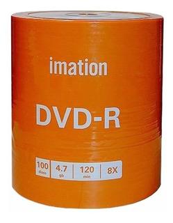 Dvd Virgen Imation Estampado X 100 - Envio A Todo El Pais
