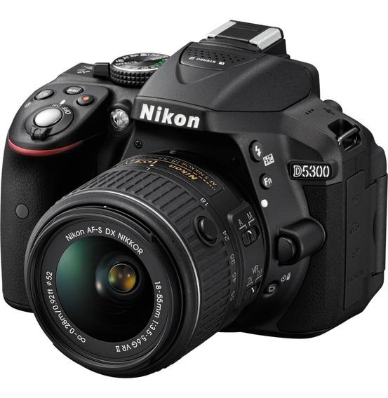 Câmera Nikon D5300 Lente 18-55mm